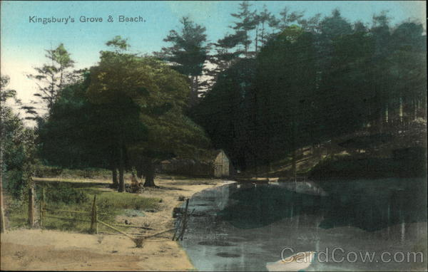 Kingsbury's Grove and Beach Eastham Massachusetts
