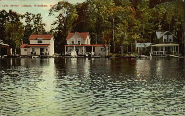 Lake Archer Cottages Wrentham Massachusetts