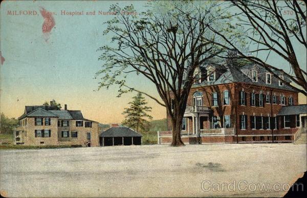 Hospital and Nursing Home Milford Massachusetts