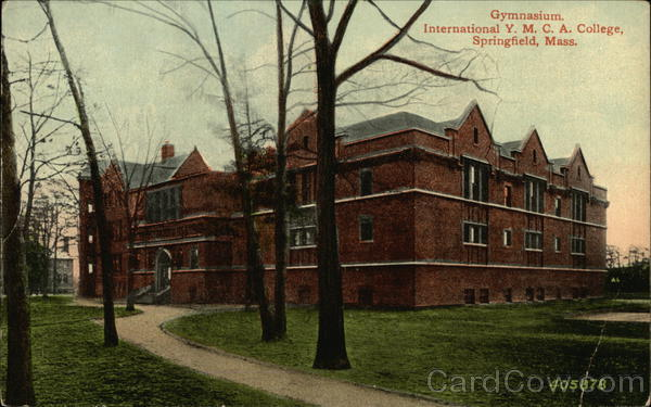 International Y.M.C.A. College - Gymnasium Springfield Massachusetts
