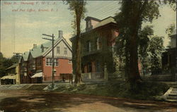 Hope St., Showing Y.M.C.A. and Post Office