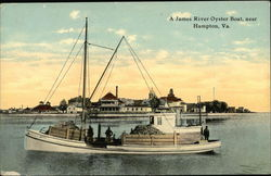A James River Oyster Boat