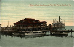 Steam Boat Landing and Pier