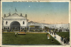 Casino and Pavilion Postcard