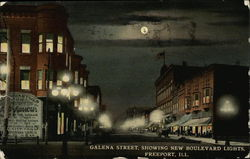 Galena Street, Showing New Boulevard Lights