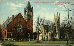 Baptist and Congregational Churches, and Grammar School