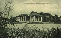 Post Office and Shop Postcard