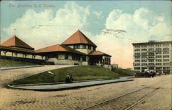 The Brockton RR Station