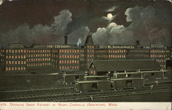 Douglas Shoe Factory at Night, Campello