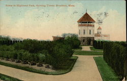 Scene in Highland Park, Showing Tower