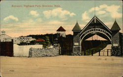 Entrance, Highland Park
