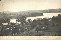 Merrimac River West from Noyes' Hill