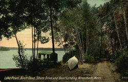 Lake Pearl, Birch Cove, Shore Drive and Boat Landing