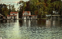 Lake Archer cottages on the Water