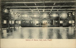 Interior of Dance Hall, Lake Pearl