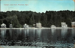 Cottages on the Water at Lake Pearl