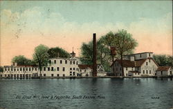 Old Grist Mill, Pond & Factories