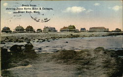 Beach Scene showing Peace Haven Hotel & Cottages