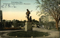 Buckminster Square and Soldier's Monument