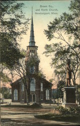 Brown Sq., and North Church