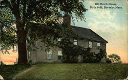 Old Balch House, Built 1639