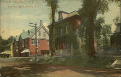 Hope Street showing Y.M.C.A. and Post Office