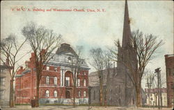 Y.M.C.A. Building and Westminister Church