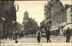 Blackett Street Y.M.C.A. Building Postcard