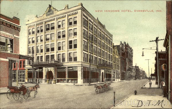 New Vendome Hotel Evansville Indiana