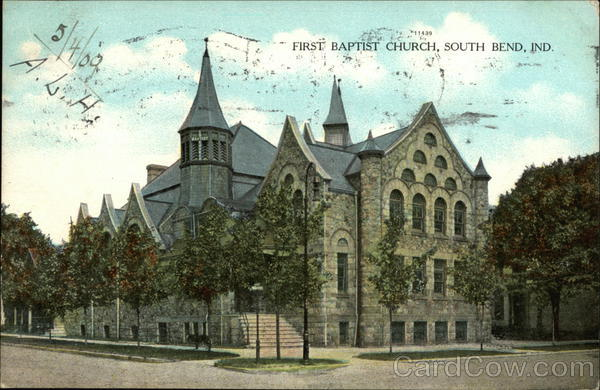 Street View of First Baptist Church South Bend Indiana