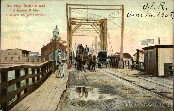 Old New Bedford and Fairhaven Bridge Massachusetts