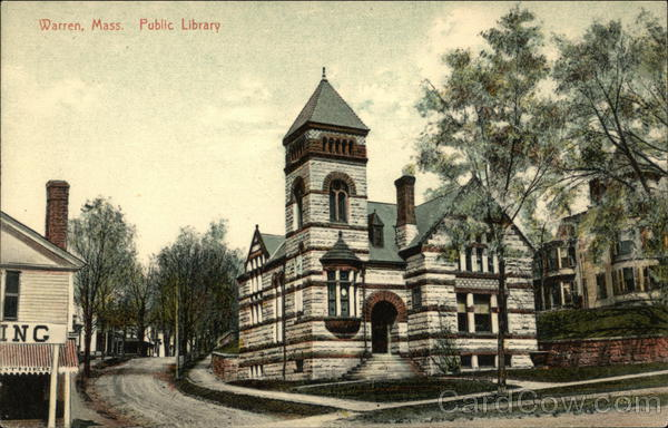 Public Library Warren Massachusetts
