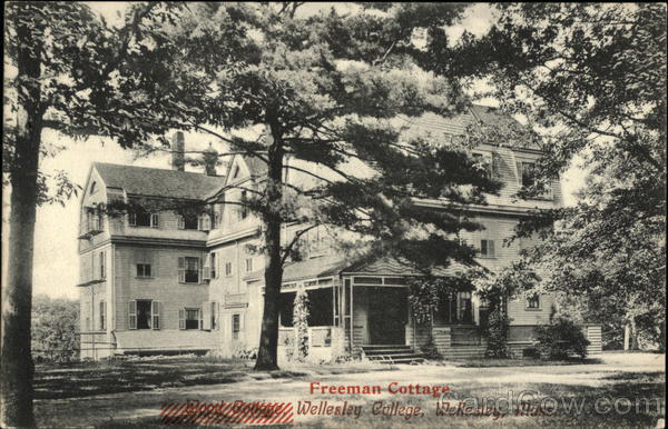 Freeman Cottage at Wellesley College Massachusetts