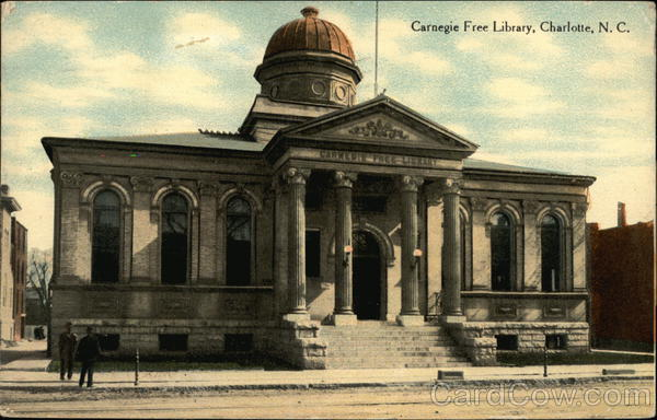 Carnegie Free Library Charlotte North Carolina