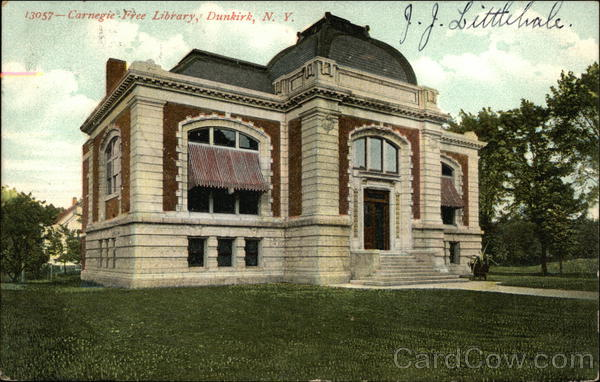 Carnegie Free Library Dunkirk New York
