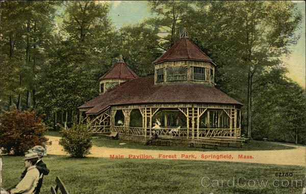 Main Pavilion at Forest Park Springfield Massachusetts