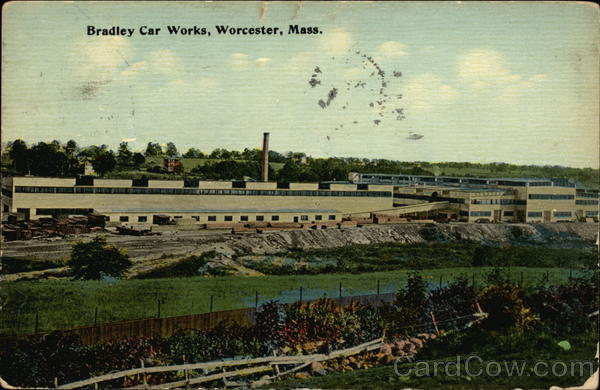 Bradley Car Works Worcester Massachusetts