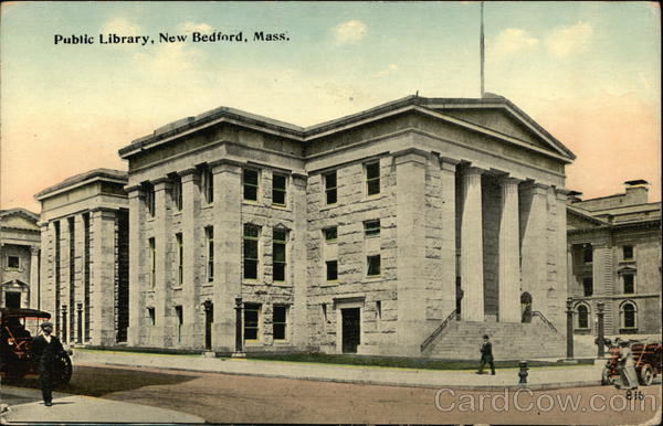 Public Library New Bedford Massachusetts
