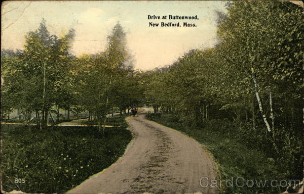 Drive at Buttonwood New Bedford Massachusetts