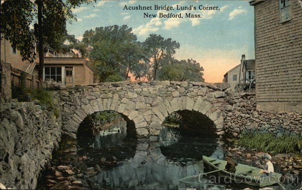Acushnet Bridge, Lund's Corner New Bedford Massachusetts