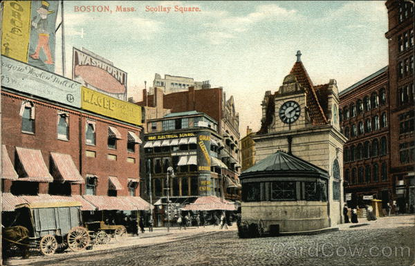 Scollay Square Boston Massachusetts