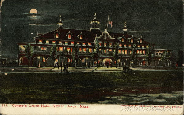 Condit's Dance Hall Revere Beach Massachusetts