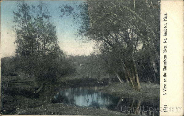 A View of the Shawsheen River North Andover Massachusetts