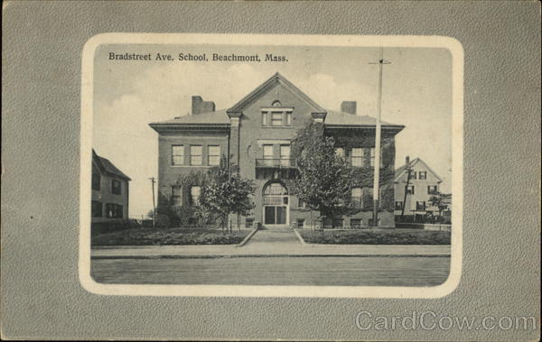 Bradstreet Avenue School Beachmont Massachusetts
