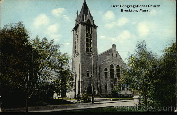 First Congregational Church Brockton Massachusetts