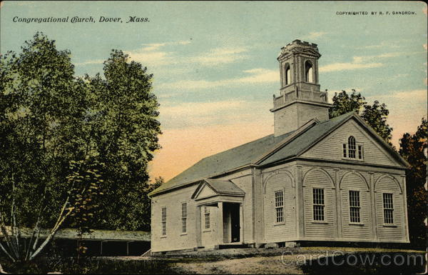 Congregational Church Dover Massachusetts