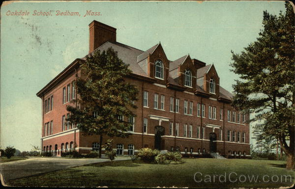 Oakdale School Dedham Massachusetts