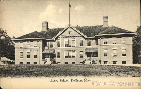 Avery School and Grounds Dedham Massachusetts