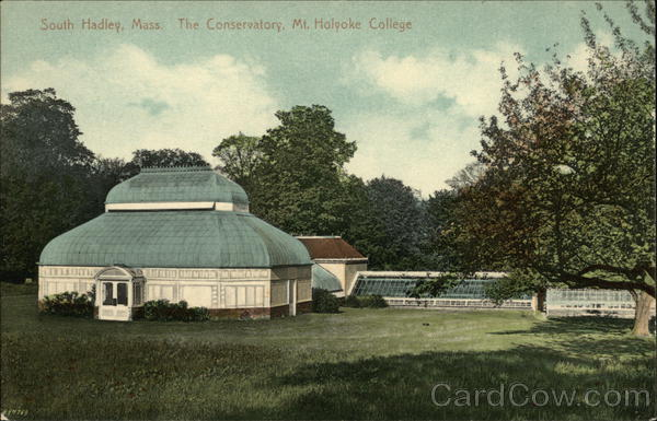 The Conservatory, Mt. Holyoke College South Hadley Massachusetts