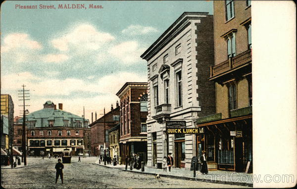 pleasant Street Malden Massachusetts